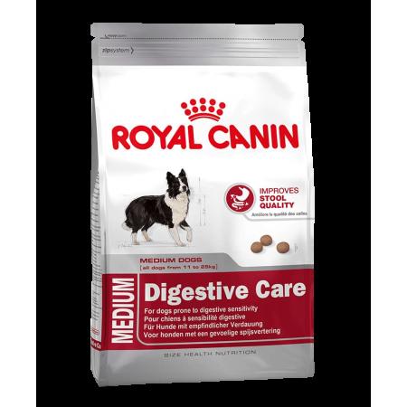 Royal Canin MEDIUM DIGESTIVE (SENSIBLE) CARE сухой корм для взрослых собак средних размеров с чувствительным пищеварением