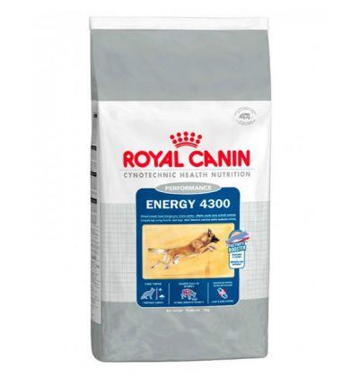Royal Canin Energy 4300 корм для собак, подверженных коротким, но интенсивным нагрузкам, от 15  месяцев до 6 лет.