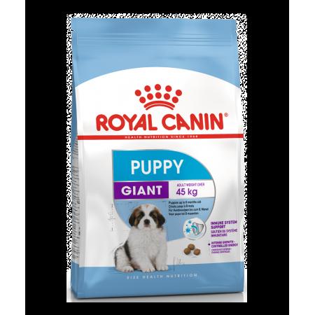Royal Canin GIANT PUPPY сухой корм для щенков собак очень крупных размеров в возрасте с 2 до 8 мес.
