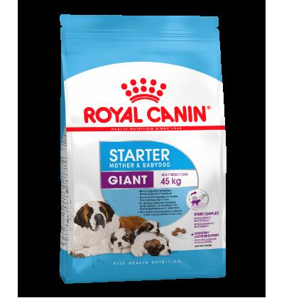 Royal Canin GIANT STARTER для собак очень крупных размеров в конце беременности и в период лактации, а также для щенков в возрасте до 2 мес.