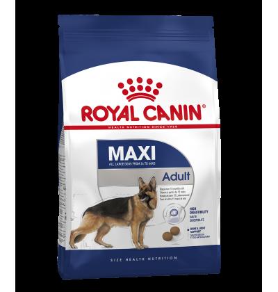 Royal Canin MAXI ADULT корм для взрослых собак крупных размеров в возрасте c 15 месяцев до 5 лет