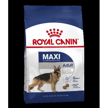 Royal Canin MAXI ADULT сухой корм для взрослых собак крупных размеров в возрасте c 15 месяцев до 5 лет