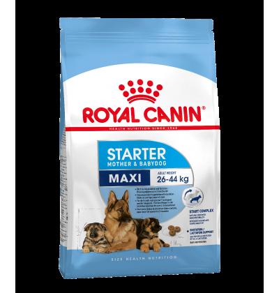 Royal Canin MAXI STARTER для собак крупных размеров в конце беременности и в период лактации, а также для щенков в возрасте до 2 мес.