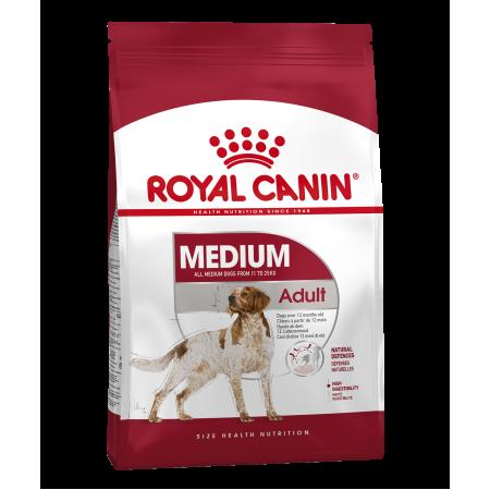 Royal Canin MEDIUM ADULT сухой корм для собак средних размеров с 12 месяцев до 7 лет