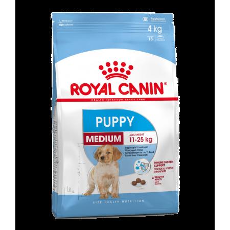 Royal Canin MEDIUM PUPPY сухой корм для щенков средних размеров с 2 до 12 месяцев