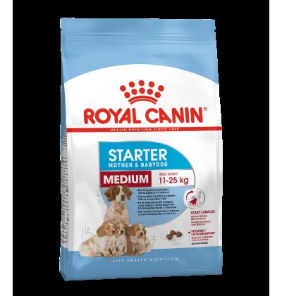 Royal Canin MEDIUM STARTER для собак средних размеров в конце беременности и в период лактации, а также для щенков в возрасте до 2 месяцев