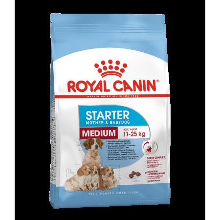 Royal Canin MEDIUM STARTER сухой корм для собак средних размеров в период беременности и лактации, и щенков до 2 месяцев