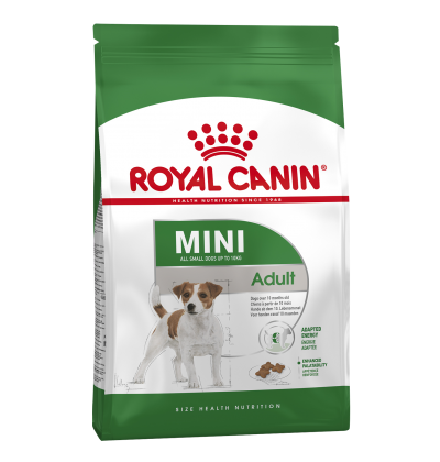 Royal Canin MINI ADULT для взрослых собак мелких размеров в возрасте с 10 месяцев до 8 лет