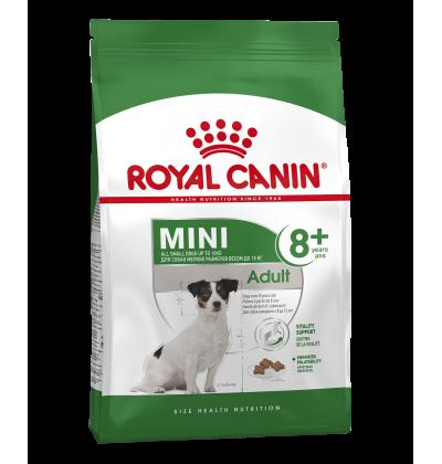 Royal Canin MINI ADULT 8+ для стареющих собак мелких размеров в возрасте с 8 до 12 лет