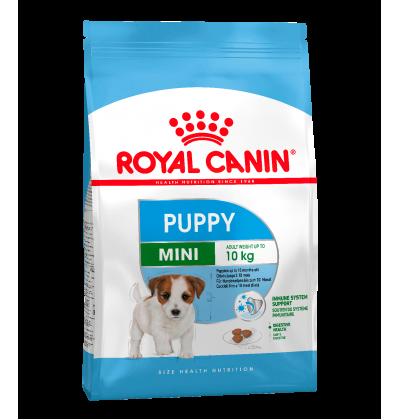 Royal Canin MINI PUPPY для щенков мелких размеров в возрасте c 2 до 10 месяцев