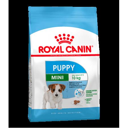 Роял Канин Мини Паппи (Royal Canin MINI PUPPY) для щенков мелких размеров в возрасте c 2 до 10 месяцев