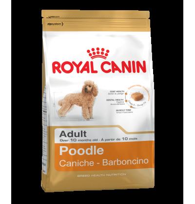 Royal Canin POODLE ADULT корм для собак породы пудель в возрасте от 10 месяцев