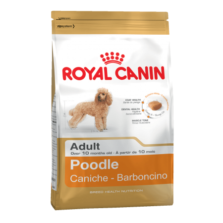 Royal Canin POODLE ADULT сухой корм для пуделя в возрасте от 10 месяцев