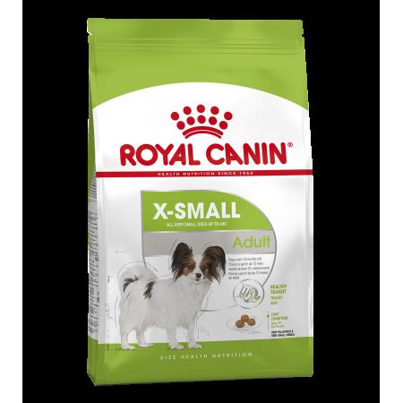 Royal Canin X-SMALL ADULT (Икс-смолл Эдалт) сухой корм для взрослых собак миниатюрных размеров от 10 месяцев до 8 лет