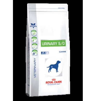Royal Canin URINARY S/O диета для собак при лечении и профилактике мочекаменной болезни (струвиты, оксалаты)
