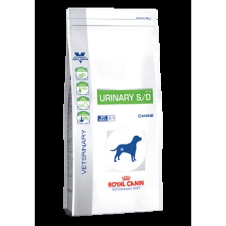 Royal Canin URINARY S/O ветдиета для собак при лечении и профилактике мочекаменной болезни (струвиты, оксалаты)