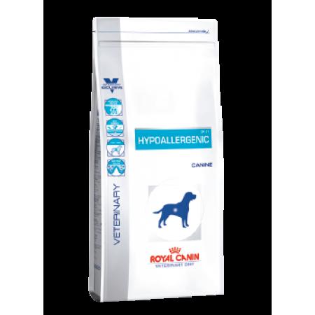 Royal Canin HYPOALLERGENIC ветеринарная диета для собак с пищевой аллергией или непереносимостью