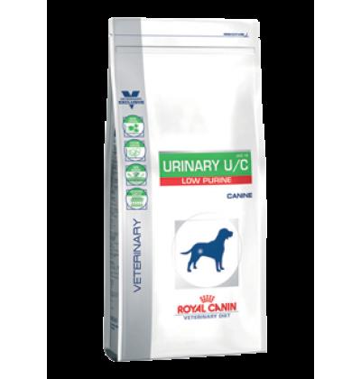 Royal Canin URINARY U/C LOW PURINE диета для собак при лечении и профилактике мочекаменной болезни (ураты, цистины), лейшманиозе