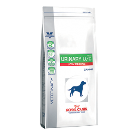 Royal Canin URINARY U/C LOW PURINE вет. диета для собак при лечении и профилактике мочекаминой болезни  (уратов, цистинов), лейшманиозе