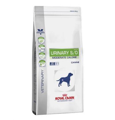 Royal Canin Urinary S/O Moderate Calorie корм для собак, с лишним весом и страдающих от болезней мочевой системы.