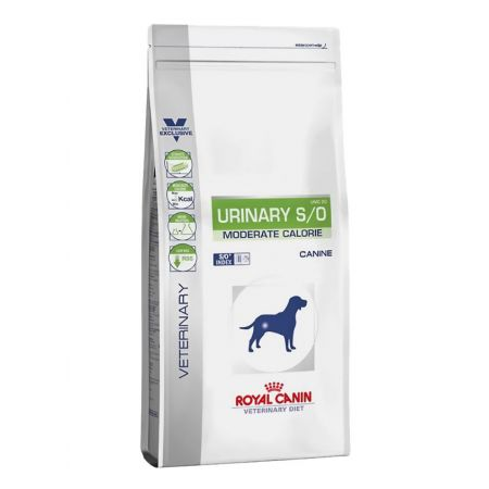 Royal Canin Urinary S/O Moderate Calorie вет.диета для собак, с лишним весом и страдающих от болезней мочевой системы.