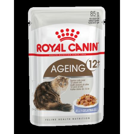Royal Canin AGEING +12 влажный корм для кошек старше 12 лет всех пород, мясо в желе
