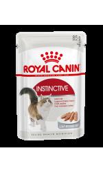 Royal Canin INSTINCTIVE in loaf влажный корм для взрослых кошек всех пород, в паштете