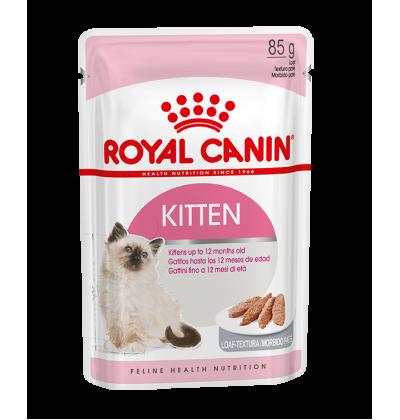 Royal Canin KITTEN INSTINCTIVE in gravy влажный корм для котят до 12 месяцев всех пород, в паштете
