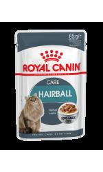 Royal Canin HAIRBALL CARE влажный корм для взрослых кошек всех пород, профилактика образования волосяных комочков в желудочно-кишечном тракте