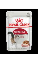 Royal Canin INSTINCTIVE in gravy влажный корм для взрослых кошек всех пород, в соусе