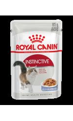 Royal Canin INSTINCTIVE in jelly влажный корм для взрослых кошек всех пород, в желе