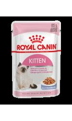 Royal Canin KITTEN INSTINCTIVE in jelly влажный корм для котят от 4 до 12 месяцев всех пород, в желе
