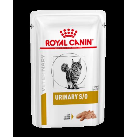Royal Canin URINARY S/O диета для кошек при заболеваниях дистального отдела мочевыделительной системы, паштет