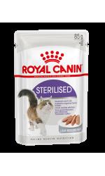 Royal Canin STERILISED in loaf влажный корм для взрослых стерилизованных кошек всех пород, в паштете
