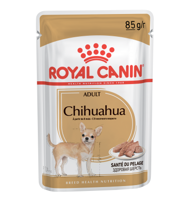 Royal Canin CHIHUAHUA ADULT in loaf влажный корм для собак породы Чихуахуа в возрасте с 8 месяцев, в паштете