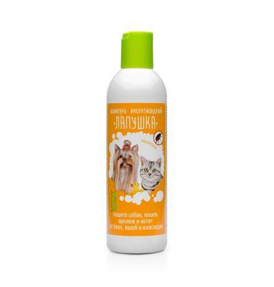 Шампунь ЛАПУШКА инсектицидный для собак и кошек (220 мл)