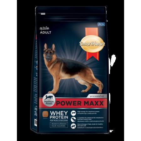 SmartHeart Power Maxx сухой корм супер-премиум класса для взрослых и активных собак всех пород крупных размеров
