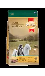 SmartHeart Gold Lamb and Rice сухой корм супер-премиум класса для собак всех пород малых размеров с ягненком и рисом