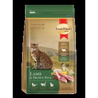Smart Heart Gold Cat Lamb сухой корм супер-премиум класса холистик для взрослых кошек с ягненком и коричневым рисом