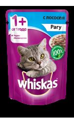 Whiskas рагу с лососем