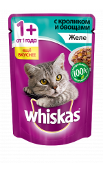 Whiskas желе с кроликом